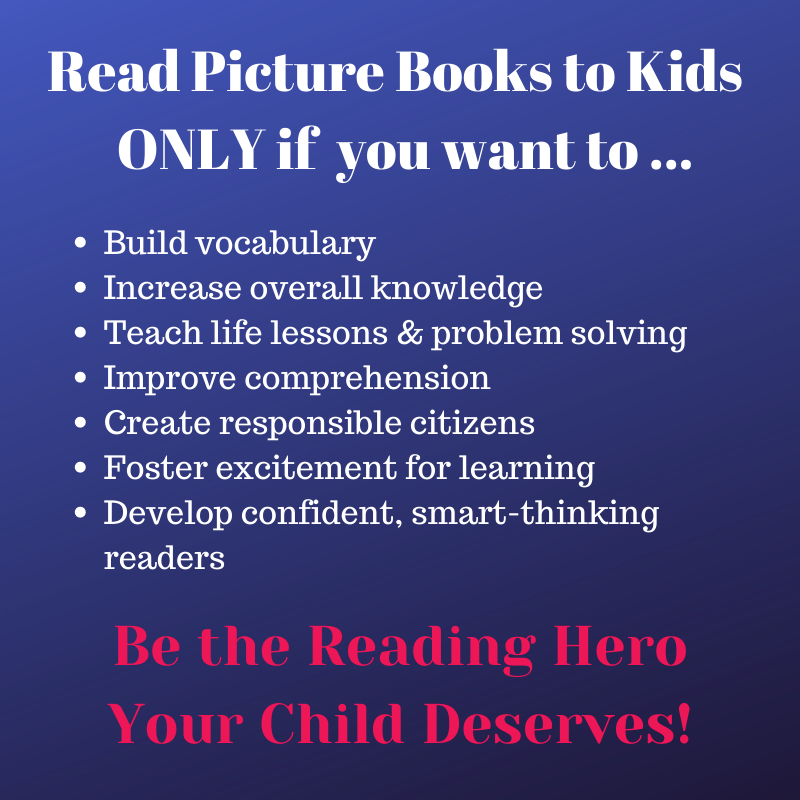 reasons to read picture books to kids